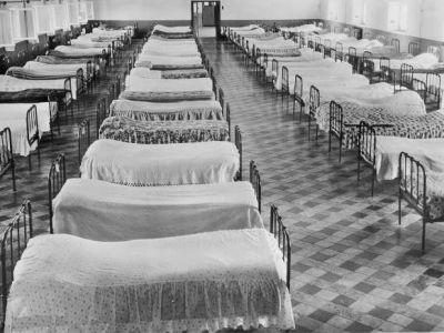 1955 - Le dortoir