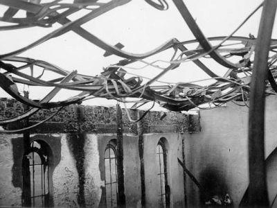 08/06/1938 - Incendie : la charpente de la chapelle