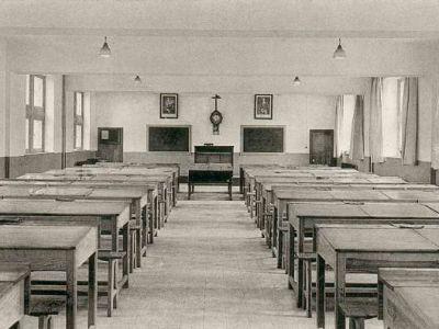 1936 - La salle d'étude