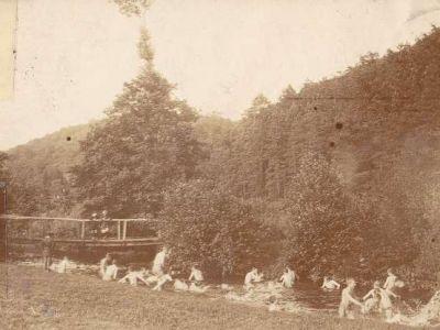 1903 - Au pont de Mirwart