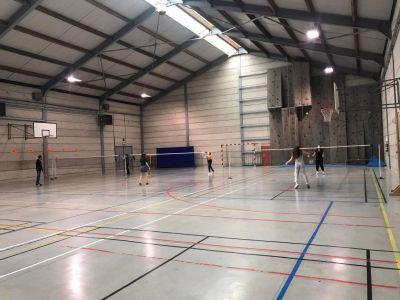 Le hall sportif